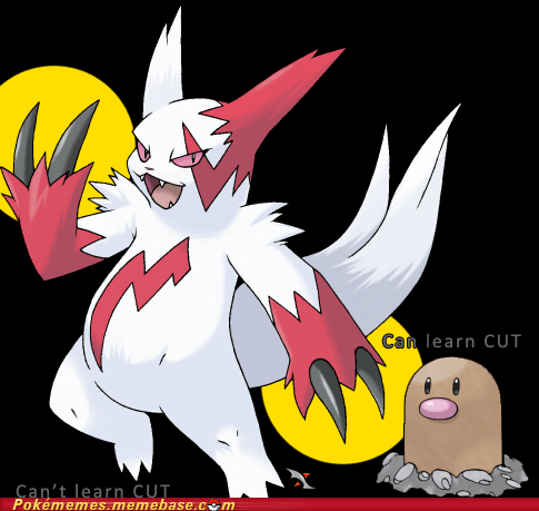 zangoose,diglett,cut,video game logic
