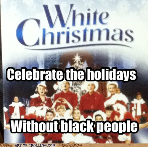 racism White Christmas holidays - 6735635200