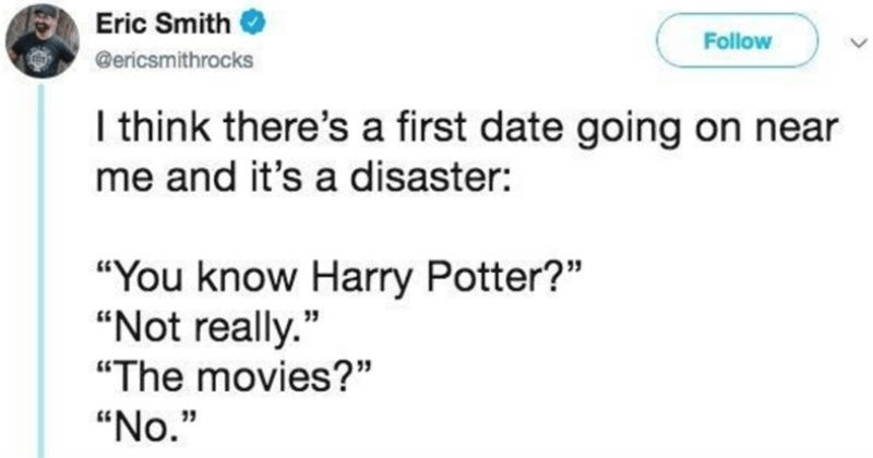 twitter Harry Potter social media ridiculous dating - 6735877