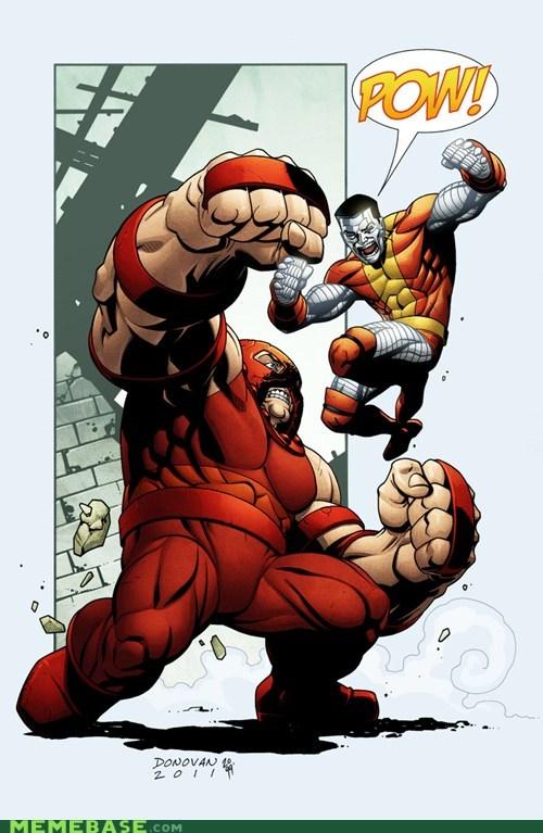 pow,juggernaut,colossus,onomatopoeia
