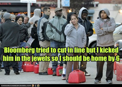michael bloomberg jewels kicked in the balls gas line new york cut - 6736295680