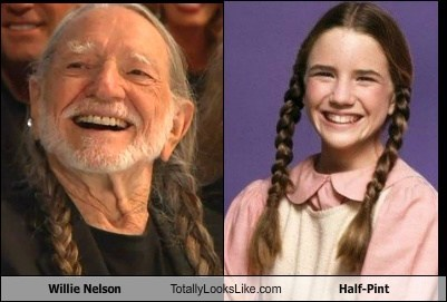 Willie Nelson Totally Looks Like Half-Pint