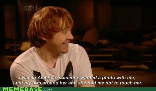 Harry Potter england rupert grint america Ron Weasley - 6736751360