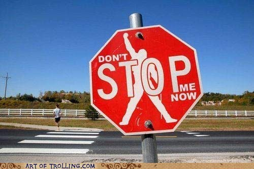 IRL signs stop sign