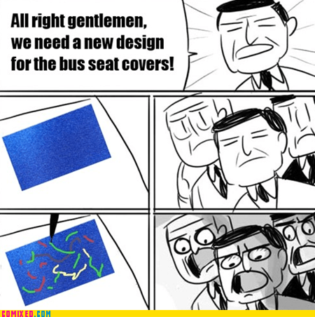 design buses seat genius all right gentlemen