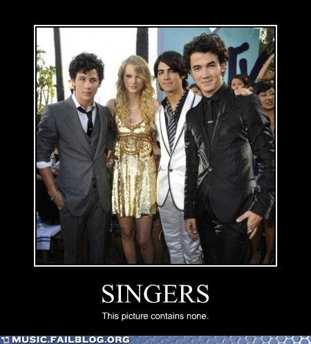 taylor swift singers jonas brothers