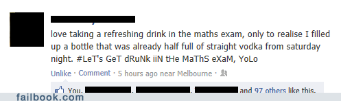 yolo school vodka exam