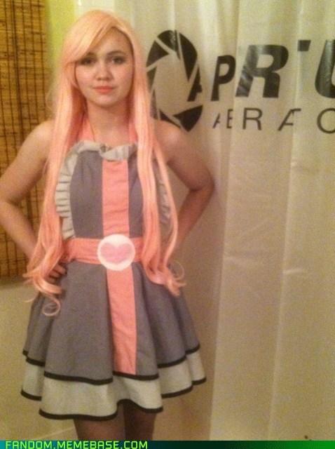 cosplay companion cube Portal video games - 6737972736