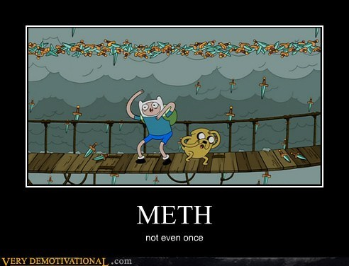 knives meth adventure time