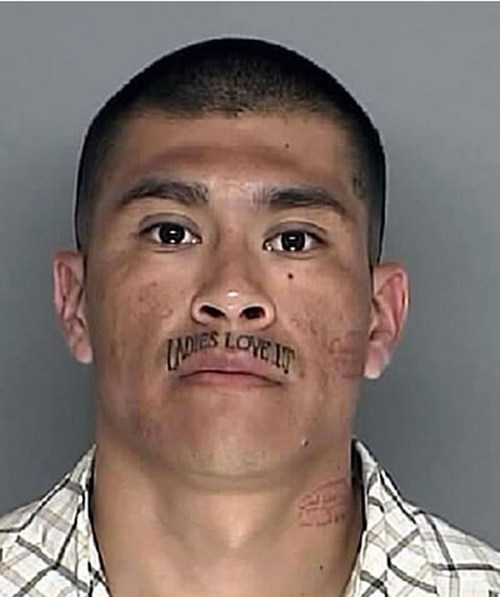 ladies love it face tattoos mugshots - 6738189056