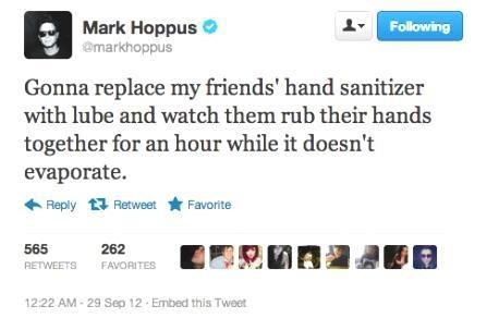 sanitized mark hoppus lube hand sanitizer
