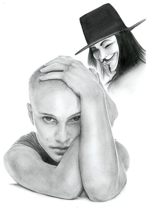 v for vendetta Guy Fawkes movies Fan Art - 6738361088