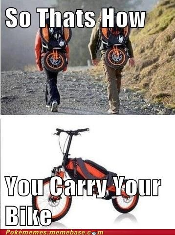 Pokémon bicycle explained backpack - 6738364160