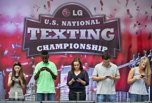 riveting,kids these days,texting championship