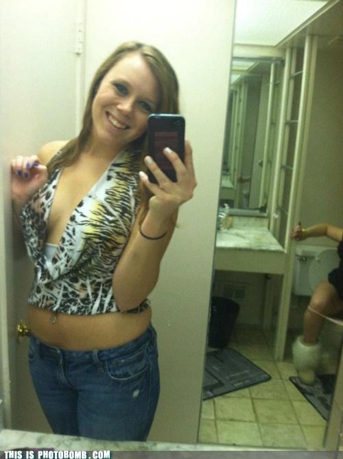 selfshot gross bathroom camera phone - 6738441984