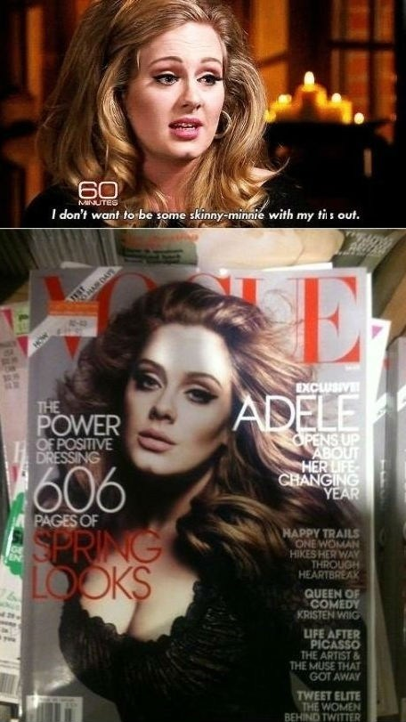 adele,magazine covers