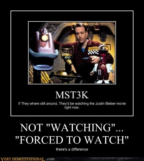 mst3k,forced to watch,watching