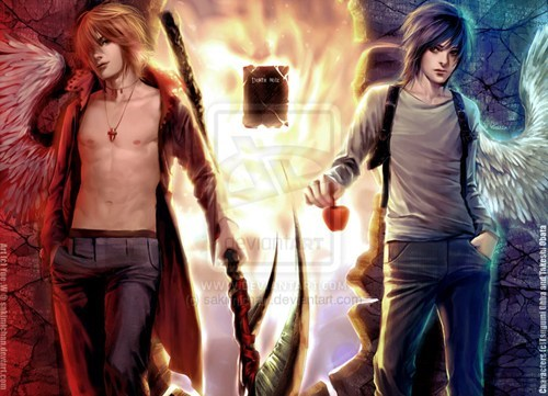 anime Fan Art death note - 6738785792