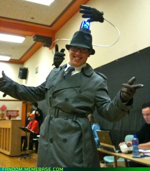 inspector gadget,cosplay,halloween
