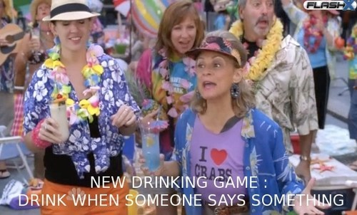 30 rock new drinking game says something