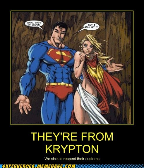 Sexy Ladies superman supergirl cousin