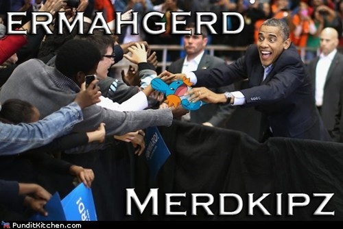 excited Pokémon mudkips Ermahgerd favorite barack obama