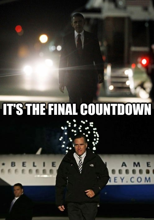 last day song Mitt Romney barack obama election arrested development final countdown - 6739465216