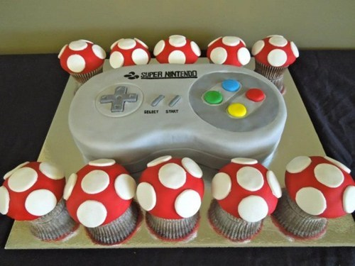 cake,Super Nintendo,nerdgasm,video games