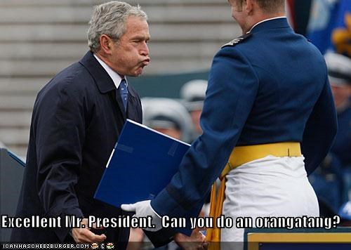 george w bush,military,president,Republicans