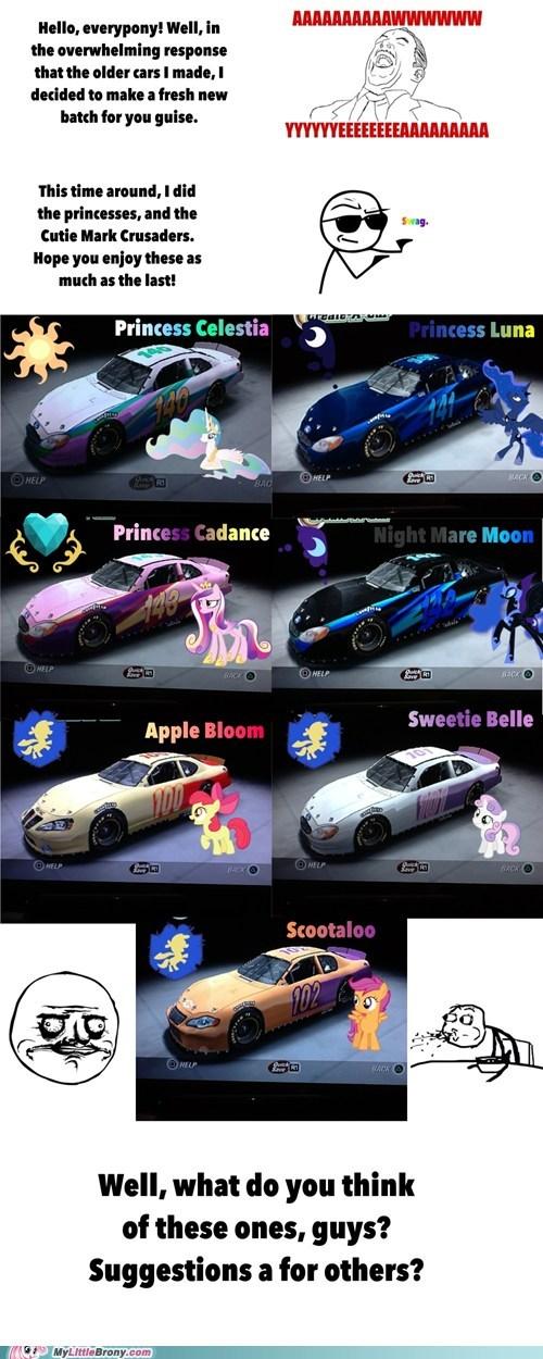 nascar my little pony awwww yea - 6739933440