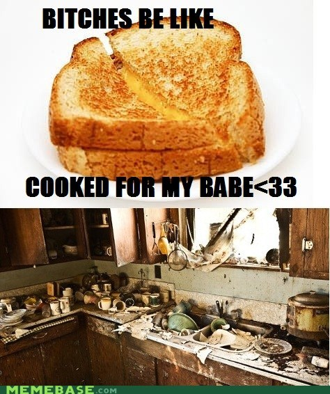 baking kitchen grilled cheese mess - 6740189440