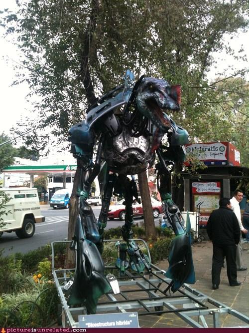 art robot jurassic - 6740324096