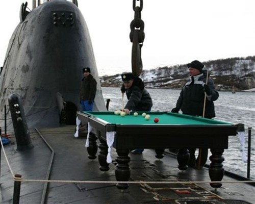 navy military pool BAMF billiards