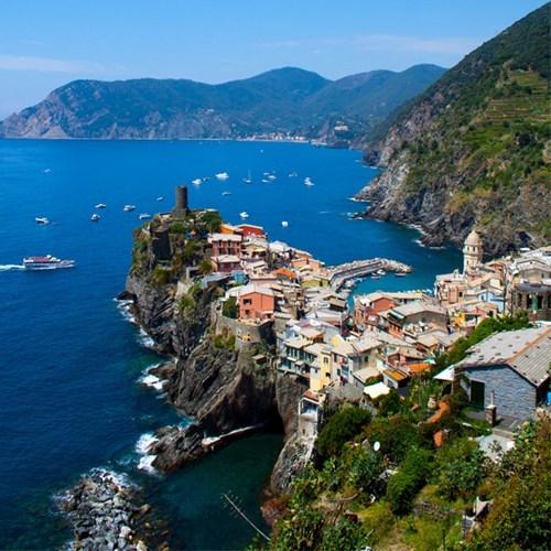 Italy,cityscape,ocean,beach,cliff