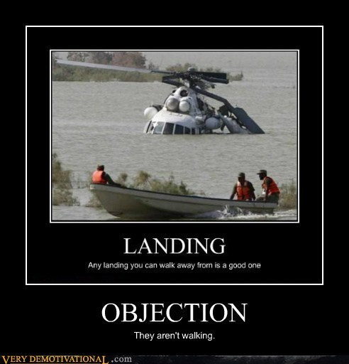 boating,wrong,walking,objection