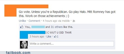 civic duty republican achievement unlocked Halo 4 - 6741390080