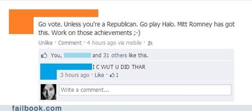 civic duty republican achievement unlocked Halo 4 - 6741390080