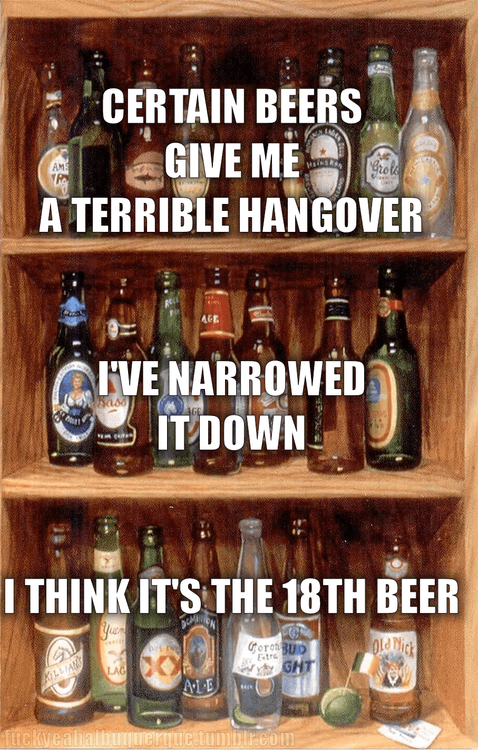 beer too many beers alcohol hangover - 6741470208