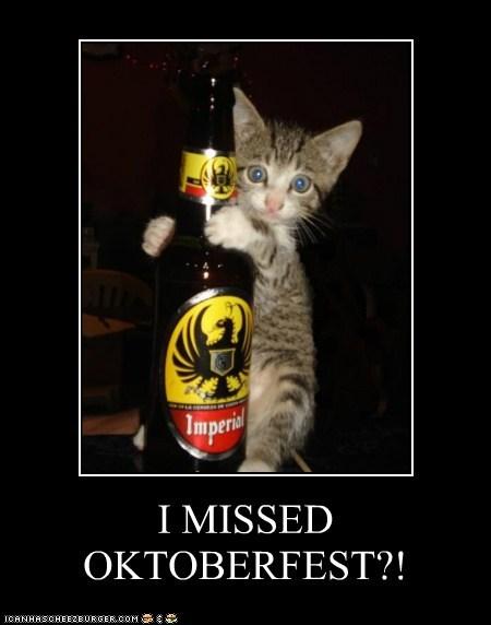 I MISSED OKTOBERFEST?!