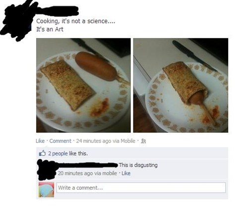 vision,gross,facebook,food,hot pocket