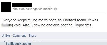 Who am I boating for today?