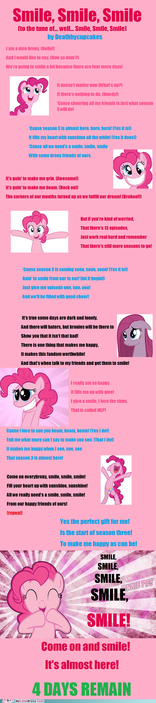 countdown my little brony smile smile smile - 6741771264