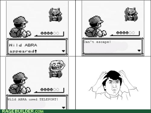 Pokémon abra teleport - 6741876480