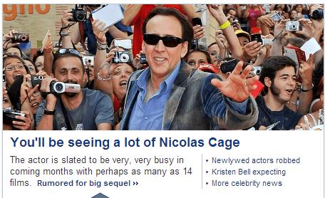 actor nicolas cage celeb nic cage funny - 6742033152