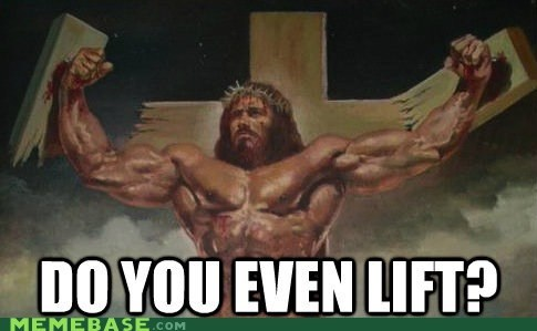 jesus do you even lift yes he could could God create a rock so big - 6742064384