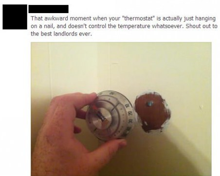 thermostat IRL facebook