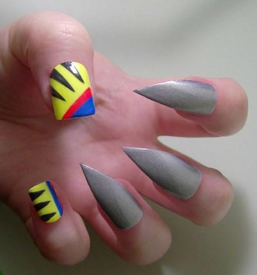 nails,fashion,x men,manicure,style,wolverine