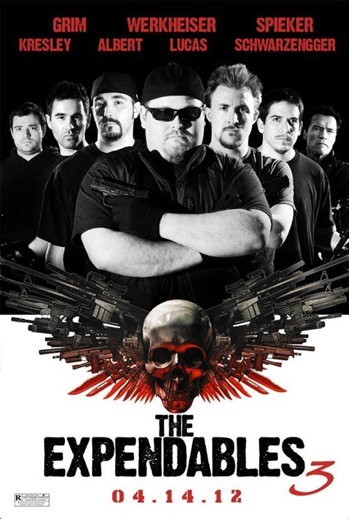 badasses,Groomsmen,poster,expendables