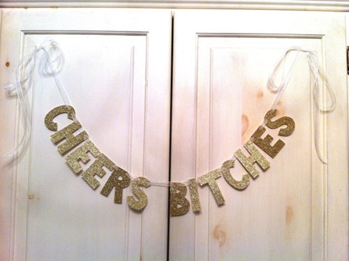 glitter,cute,banner,ladies,rude