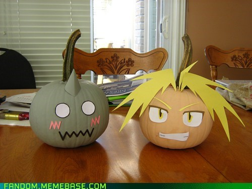 halloween fullmetal alchemist pumpkins - 6742424832